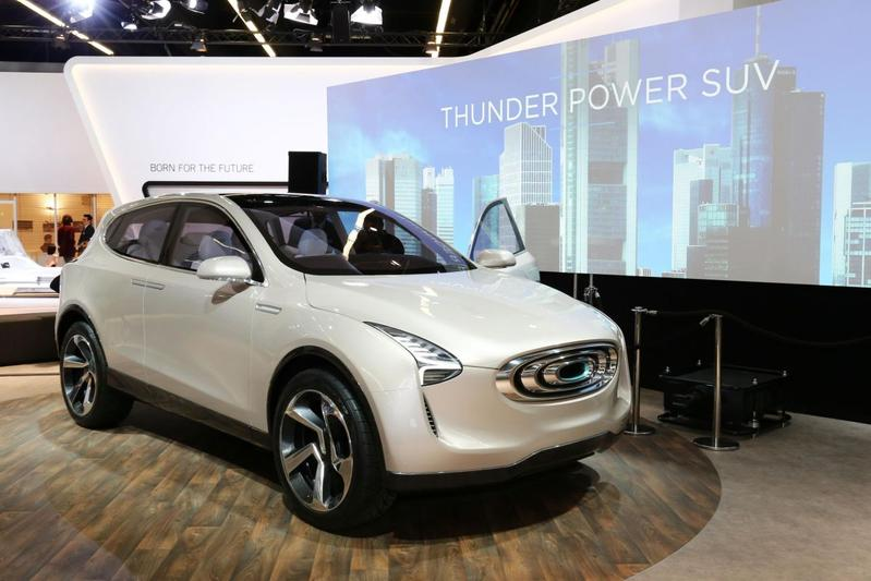 Thunder Power toont SUV Concept