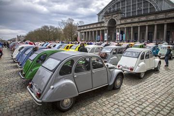 70 jaar Citroën Deux Cheveaux Brussel