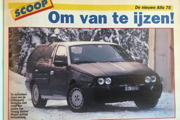 Toen in het nieuws: Alfa Romeo 155