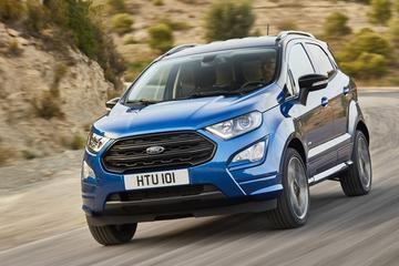 Prijzen gefacelifte Ford Ecosport bekend