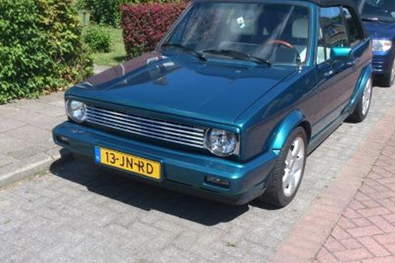 Volkswagen Golf Cabriolet Quartett (1990)