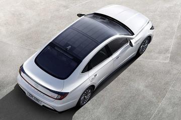 Nieuwe Hyundai Sonata ook met zonnecellen