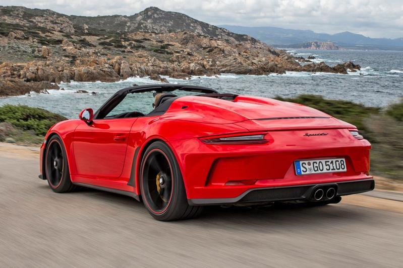 Porsche 911 Speedster - Rij-impressie
