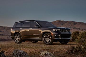 Dít is de Jeep Grand Cherokee L