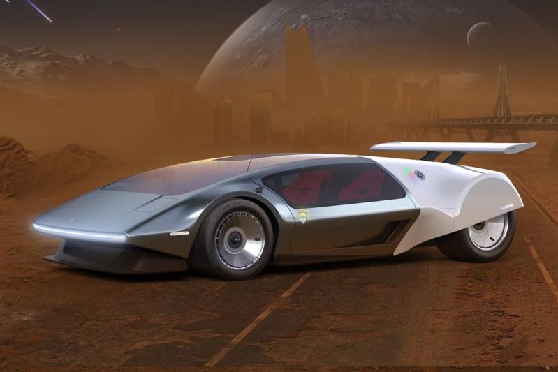 Scuderia Cameron Glickenhaus SCG 009 Concept Liquid Hydrogen