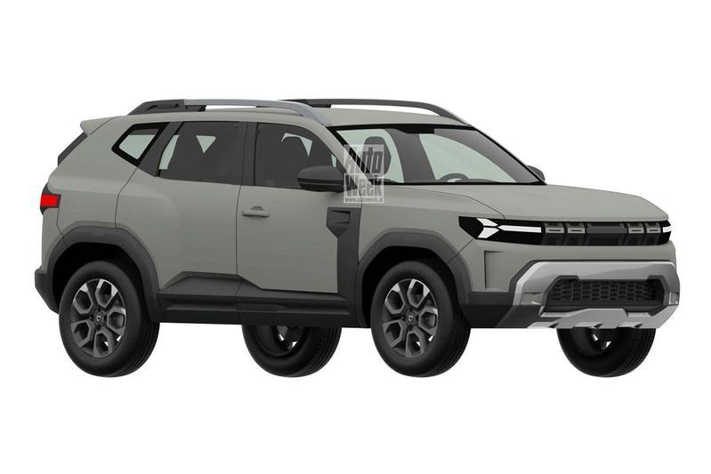 Patentplaten Dacia Bigster