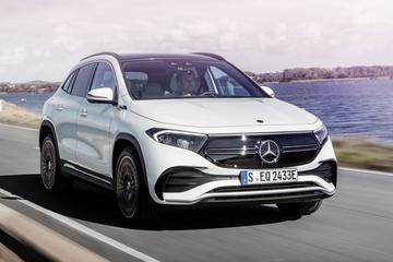 Elektrische Mercedes-Benz EQA gepresenteerd