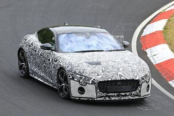 Vernieuwde Jaguar F-type gesnapt