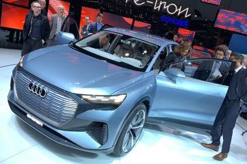 Audi presenteert Q4 E-tron Concept
