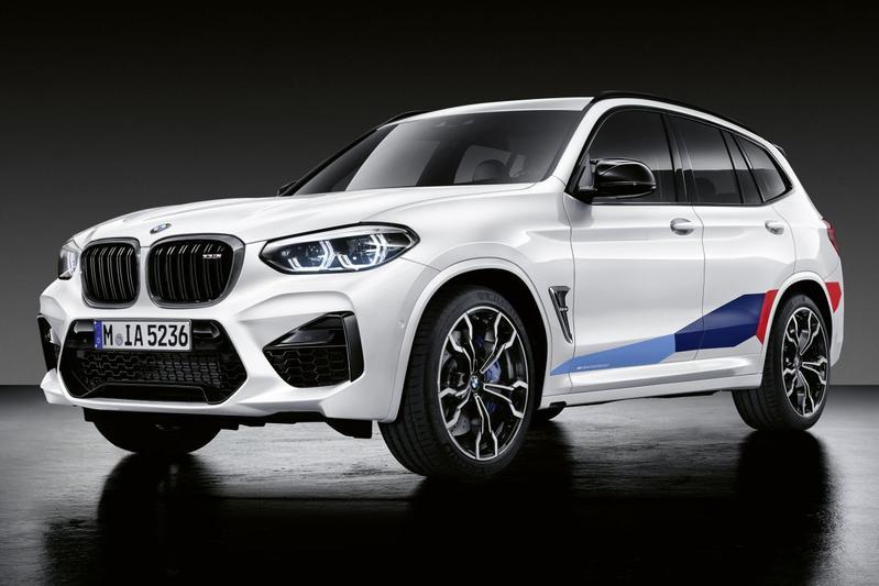 BMW X3 X4 M Performance