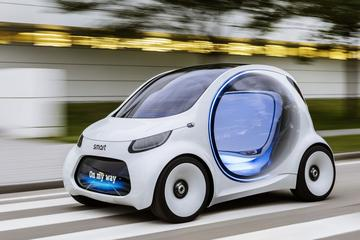 Smart onthult Vision EQ ForTwo
