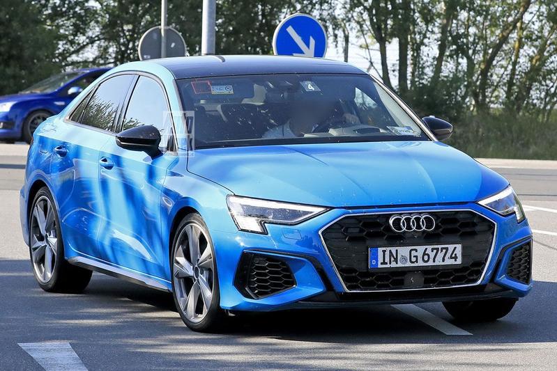 Spyshots Audi S3 Sportback en S3 Limousine