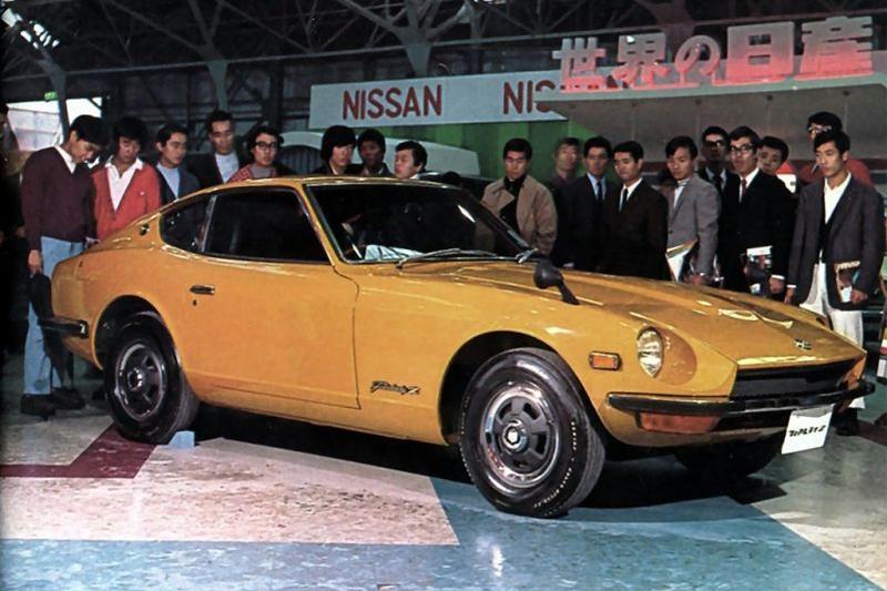 Nissan Z historie geschiedenis 240Z Datsun