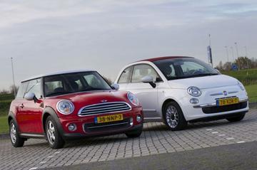 Occasiontest - Fiat 500C (2012) vs Mini Cooper (2010)