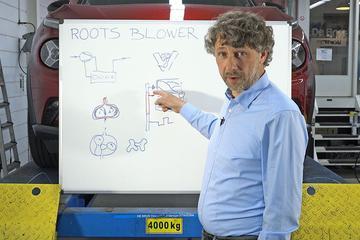 Roots-blower (supercharger) – Cornelis schetst