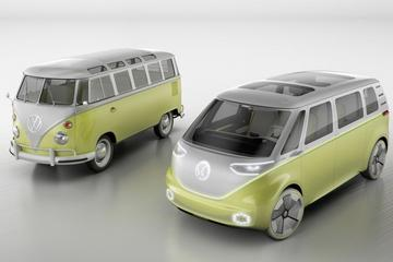 Volkswagen I.D. Buzz zoemt Detroit binnen