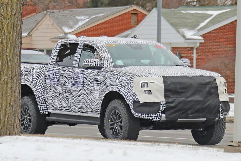 Ford Ranger Raptor Spyshots