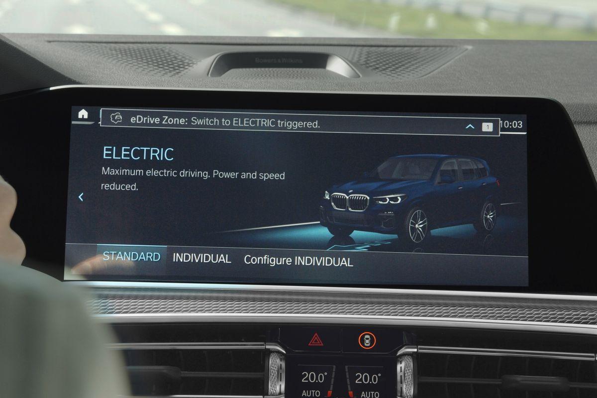 BMW Zomerupdate eDrive Zone
