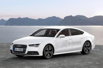 Audi A7 h-tron probeert het met waterstof
