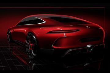 Mercedes-AMG GT Concept klaar voor Genève