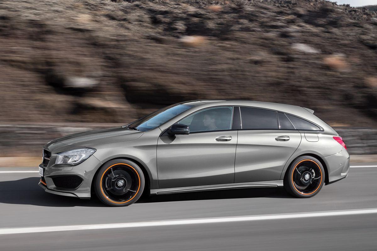 Mercedes-Benz CLA-klasse Shooting Brake