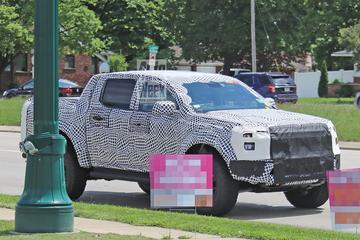 Nieuwe Ford Ranger Raptor gekiekt