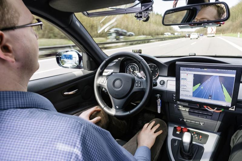 Zelfrijdende auto Bosch