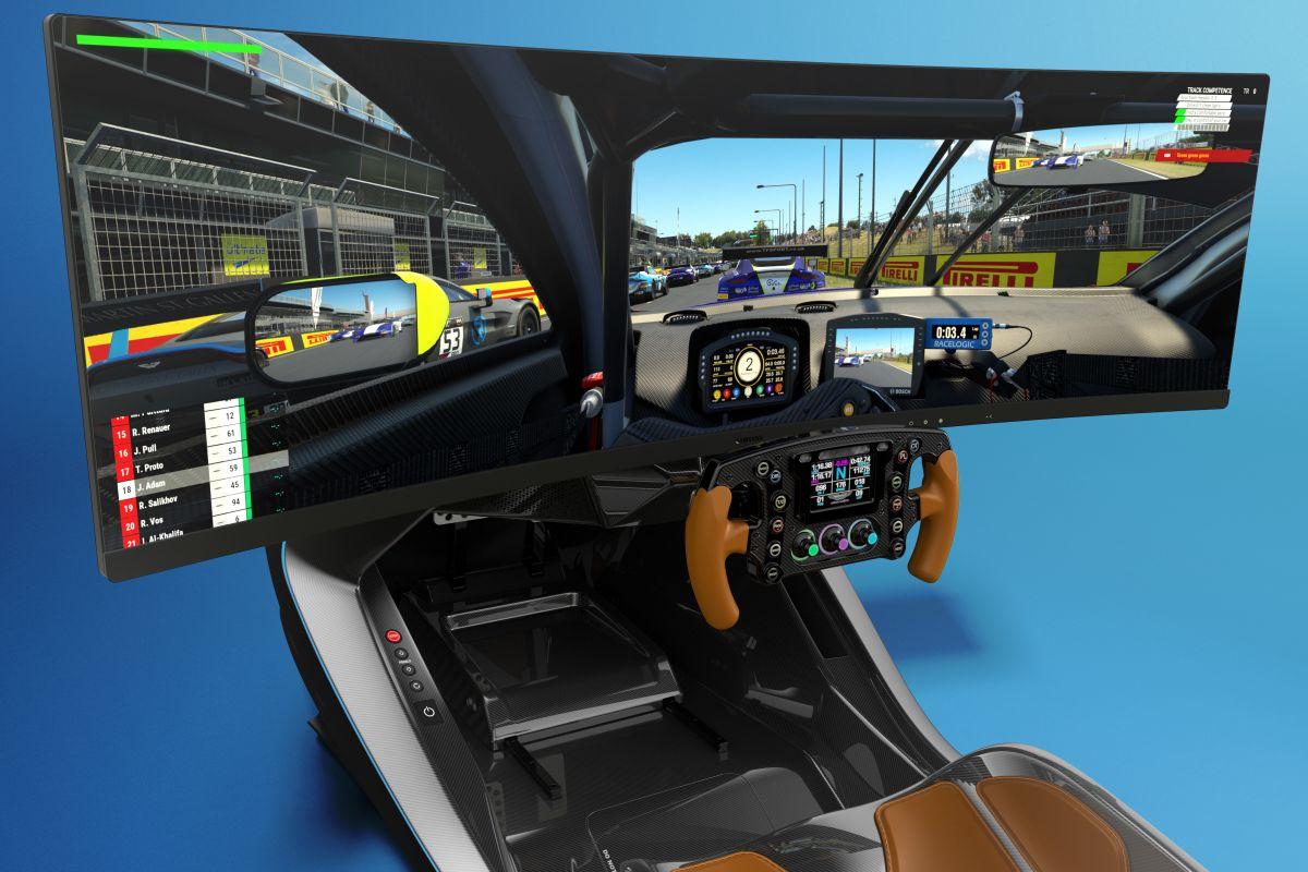Aston Martin racesimulator
