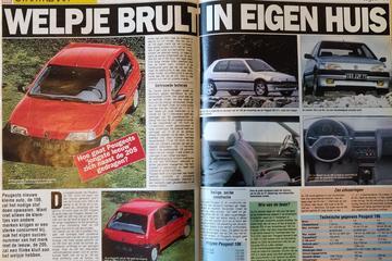 Peugeot 106 introductie - Uit de Oude Doos