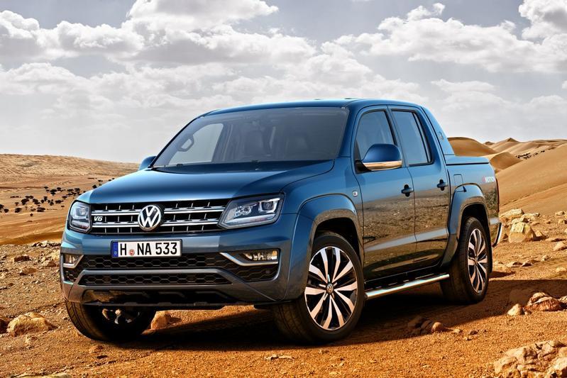 Gefacelifte Volkswagen Amarok gepresenteerd