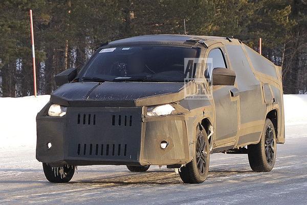 Fiat Mobi 'pick-up' bijzonder beplakt