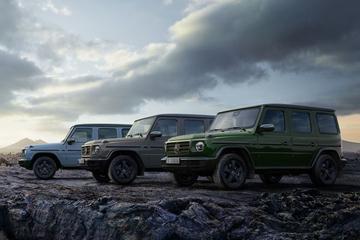 Modeljaarupdate voor Mercedes-Benz G-klasse