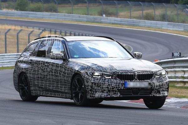 Nieuwe BMW 3-serie Touring verkent de 'Ring