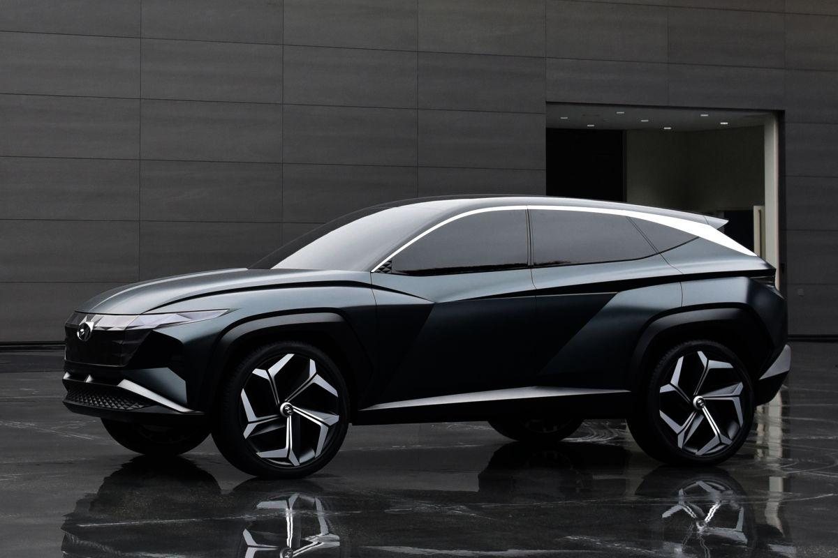 Hyundai PHEV SUV Concept (Los Angeles 2019) 24