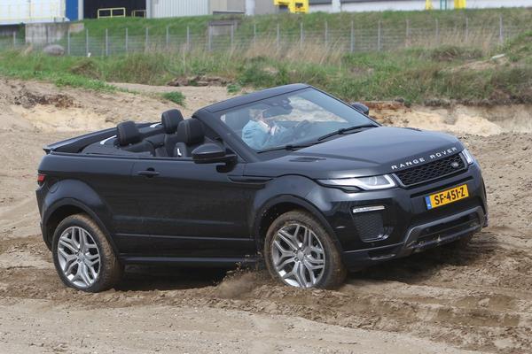 Rij-impressie: Range Rover Evoque Convertible