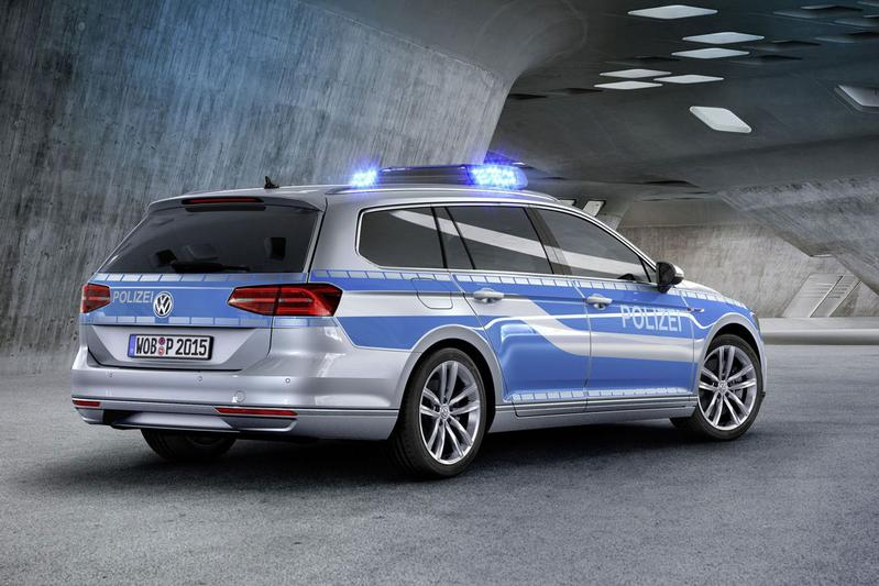 Volkswagen Passat Variant GTE Polizei