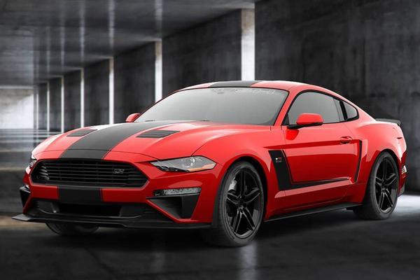 Roush JackHammer 710 pk sterke Mustang
