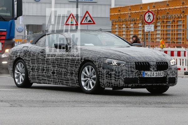BMW 8-serie Cabrio weer gesnapt