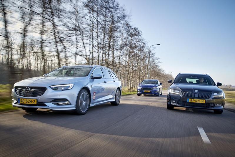 Ford Mondeo Wagon - Opel Insignia Sports Tourer - Skoda Superb Combi