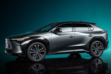 Toyota bZ4X Concept is voorbode van elektrische SUV