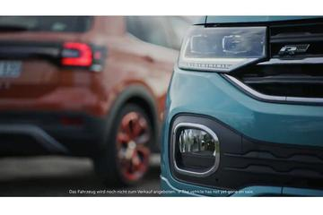 Volkswagen toont stukjes T-Cross