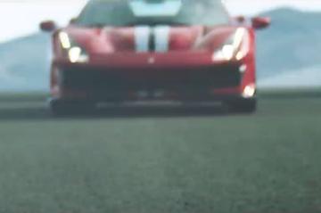 Ferrari teaset overtreffende trap van 488 GTB