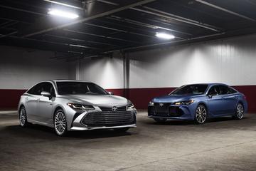 Toyota vernieuwt Avalon