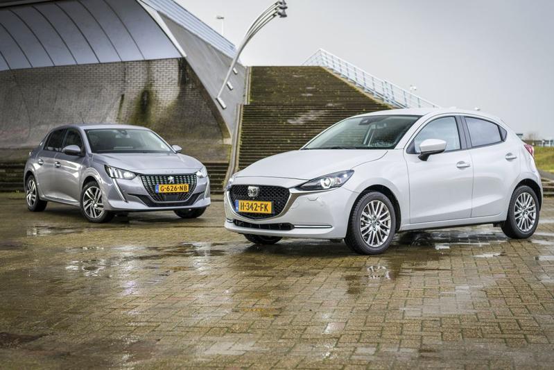 Mazda 2 – Peugeot 208 - Dubbeltest