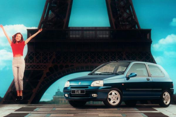 Facelift Friday: Renault Clio I