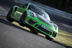 Porsche 911 GT3 RS in 6.56,4 min over de 'Ring