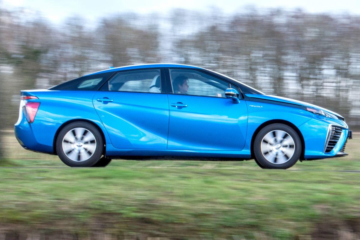 Gebruikte Toyota Mirai occasion waterstof
