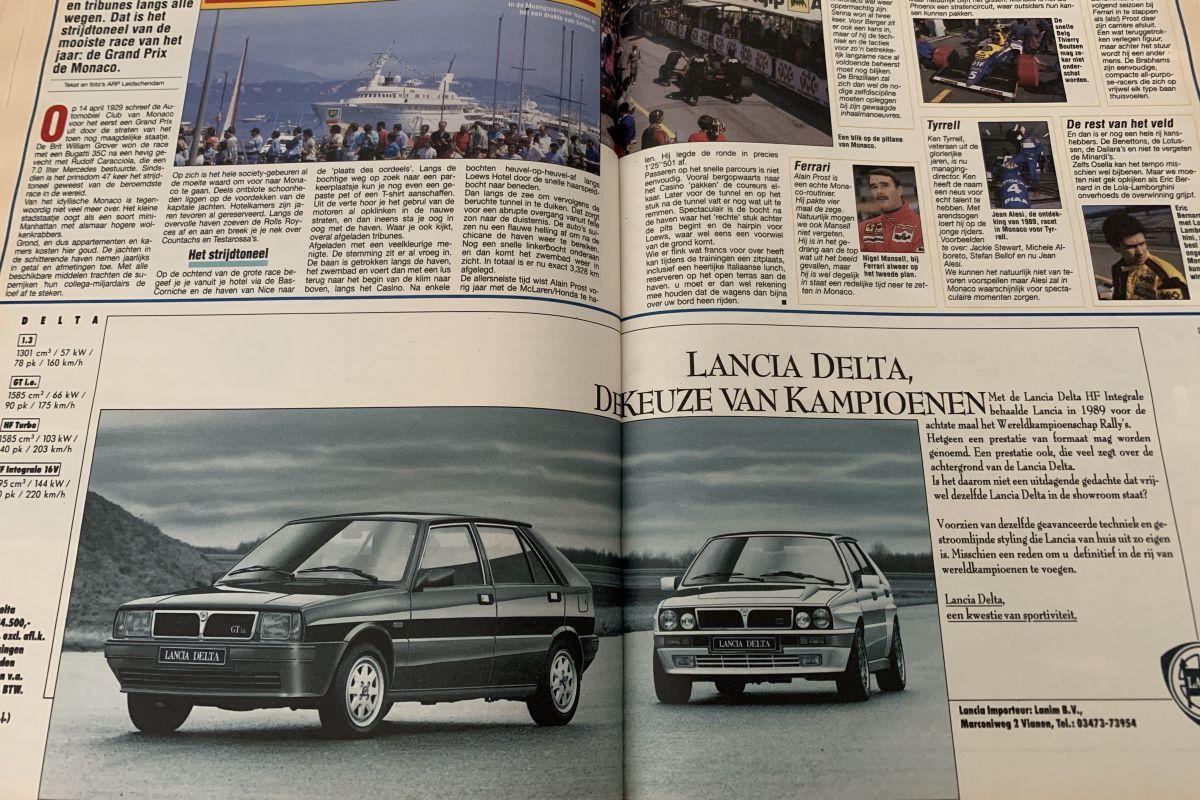 AutoWeek 30 jaar 1990 nummer 21