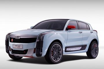 Qoros 2 SUV PHEV Concept: nieuwe designtaal