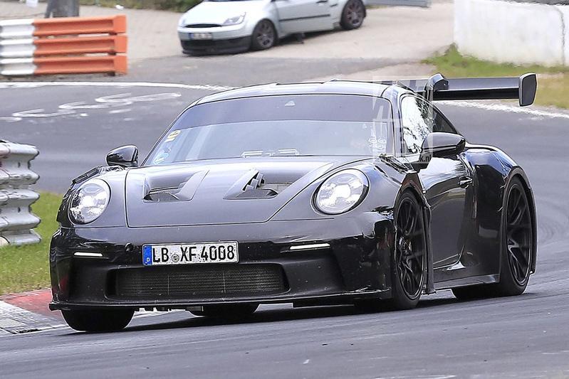 Spyshots Porsche 911 GT3 RS
